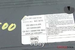 00-08 Mercedes R230 Sl500 S500 C230 CD Changer 6 Disc Player Mc3010 Oem