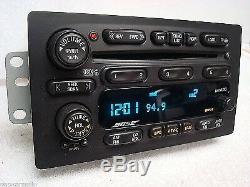 02 03 04 05 GMC CHEVY Envoy Trailblazer BOSE Radio 6 Disc Changer CD Player OEM