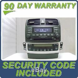 04 05 06 07 08 OEM Acura TSX Radio 6 Disc Changer CD Player 7HA0 Climate Control