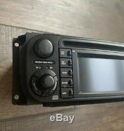 04 05 06 07 Dodge Chrysler Jeep Radio DVD CD AUX Player NAVI Screen RB1 OEM
