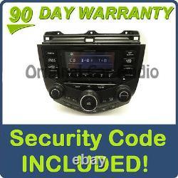 04 05 06 07 HONDA Accord Hybrid Radio Stereo 6 Disc Changer CD Player 7BO0 OEM