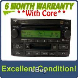 04 05 06 07 TOYOTA Highlander JBL Radio Stereo 6 DIsc Changer CD Player A56832