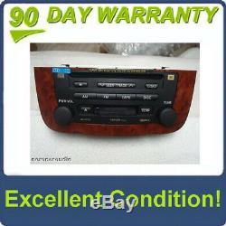 04 05 06 07 TOYOTA Highlander Navigation GPS JBL Radio 6 Disc Changer CD Player