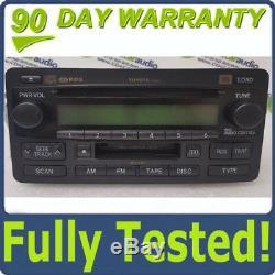 04 05 06 Toyota Tundra JBL Radio 6 Disc CD Changer Player A56830 86120-0C140