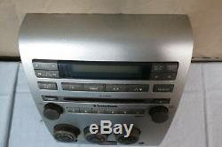 04 05 Nissan Titan SE RDS CD AUX DVD Radio Player Climate Control Panel OEM