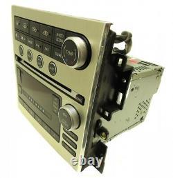 05 06 07 INFINITI G-35 G35 Bose Radio 6 Disc Changer MP3 CD Player Navigation
