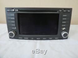 05 06 07 VW Touareg AM FM Radio CD Changer Stereo Navigation GPS Display OEM
