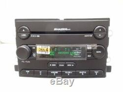 05 06 FORD Mustang Shaker 1000 Radio 6 Disc Changer MP3 CD Player NEW FACE OEM