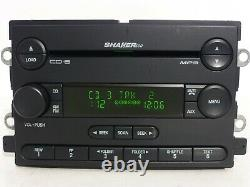 05 06 Ford Mustang OEM Shaker500 Radio MP3 AUX 6 Disc CD CHANGER Player Receiver
