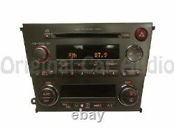 05 06 SUBARU Legacy outback Radio 6 Disc Changer CD Player P-203UH P-201UH