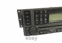 05-09 Land Rover LR3 Radio 6 Disc CD Player Head Unit VUX500330 OEM