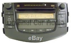 06 07 08 TOYOTA Rav4 Radio Stereo Receiver 6 Disc Changer MP3 CD Player 11812