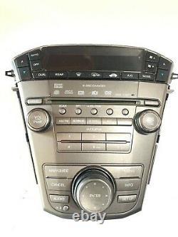 07 08 09 Acura MDX NAVI 6CD Changer Radio MP3 WMA Player Climate Control OEM
