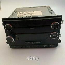 07-08 FORD F150 Explorer Radio AM/FM CD MP3 Player Stereo AUX with Single DISC