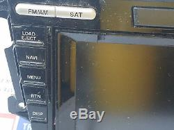 07-08 Mazda cx7 cx-7 GPS AM FM 6 MP3 CD Disc SAT Radio Player Display Screen OEM
