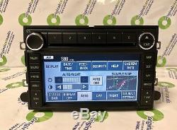 08 09 FORD MERCURY NAVIGATION GPS Radio 6 Disc Changer MP3 CD Player OEM Stereo