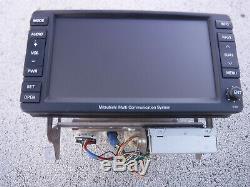 08-09 Outlander Lancer Info GPS NAVIGATION TV Screen AM FM Radio CD Player OEM