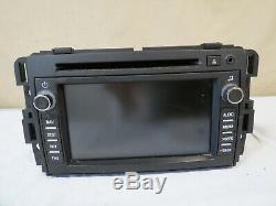 08 2008 Buick Enclave GPS NAVIGATION AM FM CD DVD Player Display OEM GM Delphi