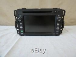 09-10 2009-2010 Enclave Traverse AM FM CD DVD Radio Navigation GPS Display OEM