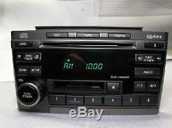 2002-2003 Nissan Maxima Bose Radio Tape 6 Disc Changer CD Player CR070 OEM
