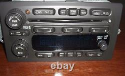 2003-07 GM GMC CHEVY OEM Factory RDS Stereo AMFM Radio 6 Disc Changer CD Player