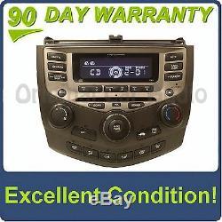 2003 2007 Honda Accord OEM Radio 6 Disc Changer CD Player 7BC1 EX LX Sedan