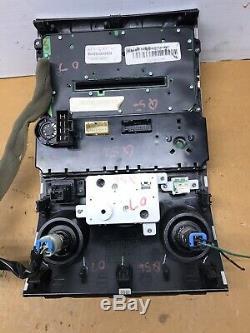 2004-2006 Infiniti QX56 CD SAT Radio Player Climate Control Bezel BOSE X794 OEM