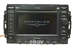 2005-07 JEEP Dodge Chrysler Navigation Radio REC 6 Disc CD Changer / P05064184AF