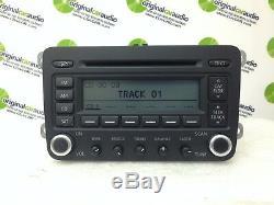 2005-2009 VW Volkswagen Jetta Passat Golf Radio 6 Disc Changer MP3 CD player