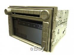 2006 2009 Lincoln OEM Navigation GPS Radio Stereo 6 Disc Changer CD Player