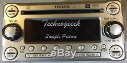2007-2014 Toyota FJ Cruiser Radio JBL 6 Disc Changer MP3 Cd Player AUX 11861 OEM