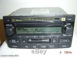 86120-42110 A56837 JBL Toyota Radio AM FM Tape 6 Disc Changer CD Player 03 04 05