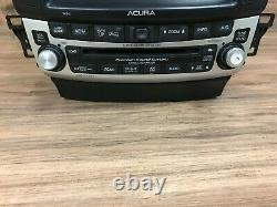 Acura Tsx Oem Front Navigation CD Player Radio Stereo Screen Headunit 2004-2008