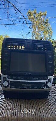 Acura Tsx Oem Navigation CD Player Radio 2004-2008