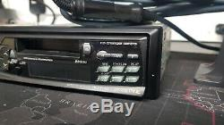 Alpine Tdm-9501r & Chm-s630 Face Off Radio Cassette Player With Disc CD Changer