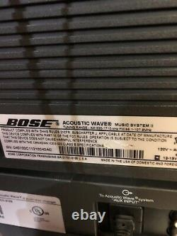 BOSE Acoustic Wave Music System II With 5 DISC CD Player Changer Sounds GREAT