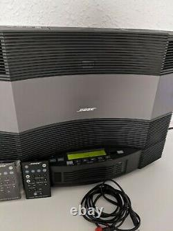 BOSE Acoustic Wave Music System II With 5 DISC CD Player Changer and Both Remotes