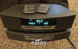 BOSE WAVE RADIO CD AWRCC1 AM/FM MULTI DISC CD PLAYER CHANGER With REMOTE CONTROLS