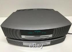 BOSE WAVE RADIO CD AWRCC1 AM/FM MULTI DISC CD PLAYER CHANGER With REMOTE CONTROLS