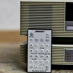BOSE Wave Music System III Radio CD Player / 3 Disc Changer / Remote