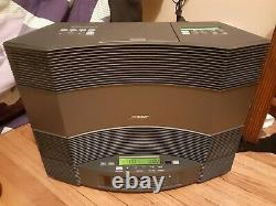 Bose Acoustic Wave Music System 2 II CD Player AM/FM Multi Disc-Changer 1 Remote