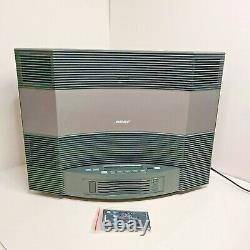 Bose Acoustic Wave Music System 2 II CD Player AM/FM Multi Disc-Changer/Remotes