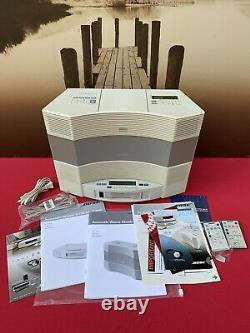 Bose Acoustic Wave Music System 2 II CD Player AM/FM with 5 Multi Disc Changer. A+