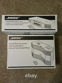 Bose Acoustic Wave Music System II CD Player AM FM 6 Multi Disc Changer Remote