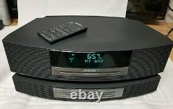 Bose Wave Music System III CD Player Radio Alarm Clock with 3 Disc Changer AS-IS