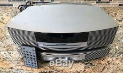 Bose Wave Music System Stereo AM/FM/CD Player AWRCC1 +3-Disc CD Changer & Remote