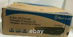 Brand new Sherwood Home Audio/Video CDC-5506 5 Disc CD Player CD CHANGER Black