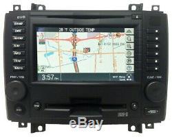 Cadillac CTS Navigation BOSE Radio DVD 6 Disc Changer MP3 CD Player Black Trim