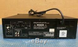 Denon DN-H800 Music CD Player 5 Disc Changer AM/FM Tuner Rack Mount Mountable