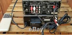 Denon UDCM M7 CD Player 3 Disc Auto Changer UDRA-M7 Am Fm Tuner Amplifier Remote
